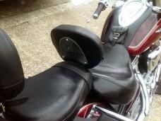 Driver Rider Backrest Yamaha WildStar XV 1700, Roadstar XV1700